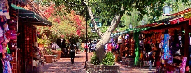 Olvera Street is one of LA Places.