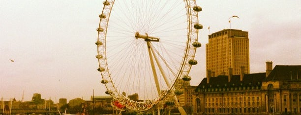 The London Eye is one of Top London attractions.
