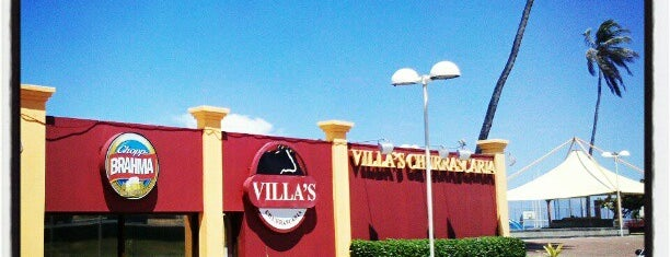 Villa's Churrascaria is one of Tempat yang Disukai Alisson.