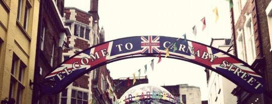 Carnaby Street is one of Must Visit London.