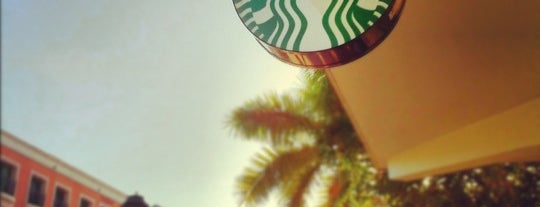 Starbucks is one of Kevin : понравившиеся места.
