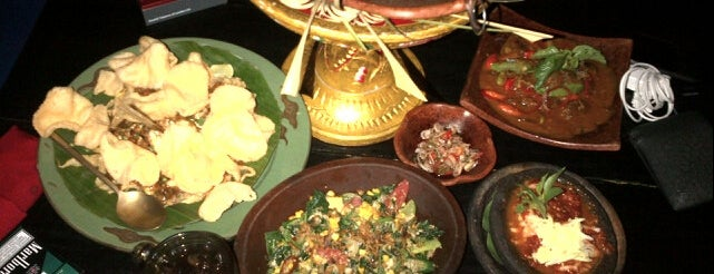 Lara Djonggrang is one of Indonesian Fine Dining.