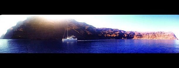 Thirassia Port is one of Romance in Santorini.