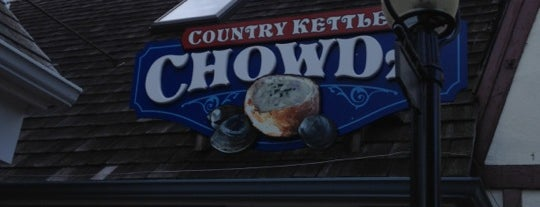 Country Kettle Chowda is one of Debi 님이 좋아한 장소.