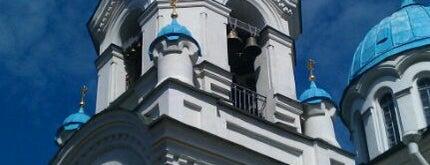 Церковь Спаса Нерукотворного Образа (Спасо-Парголовская) is one of Locais curtidos por Yulia.