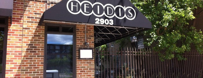 Heidi's is one of City Pages Best of Twin Cities: 2011.