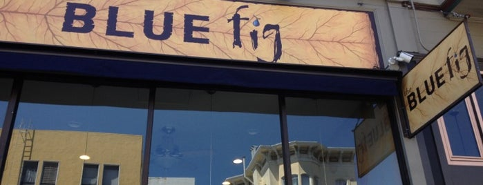 The Blue Fig is one of The San Franciscans: Mission.