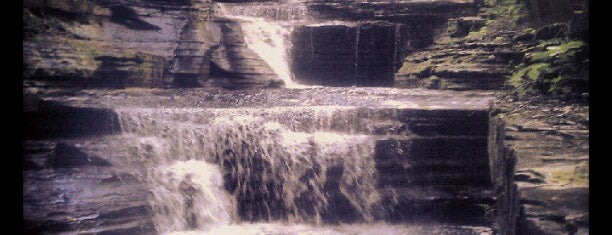 Buttermilk Falls State Park is one of Fingerlakes Transport an Tour Service.