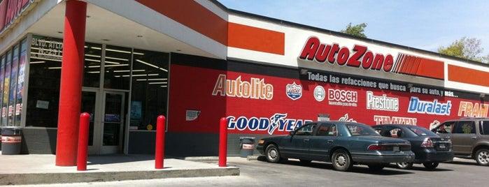 AutoZone is one of Luis'in Beğendiği Mekanlar.