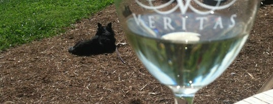 Veritas Vineyard and Winery is one of charlottesville.