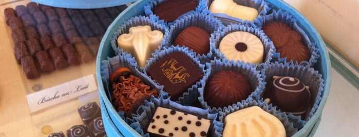 Woodhouse Chocolate is one of Guide to Napa's best spots.