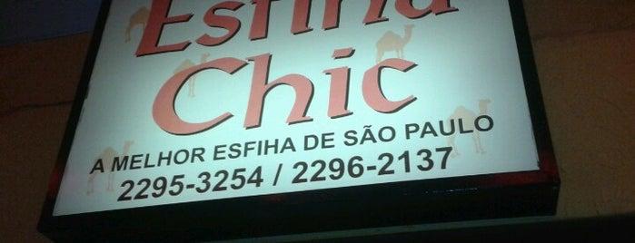 Esfiha Chic is one of Orte, die Cleber gefallen.
