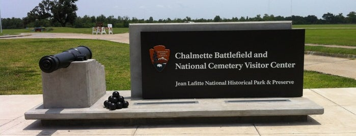Chalmette Battlefield is one of National Park Service Sites.