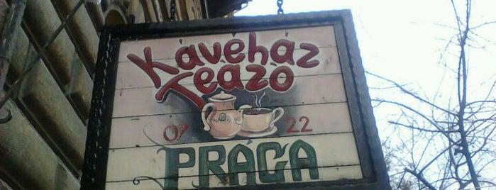 Prága Kávéház és Teázó is one of BURGER..
