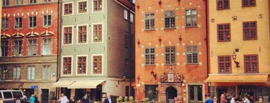Stortorget is one of Stockholm, SWE: places to visit.