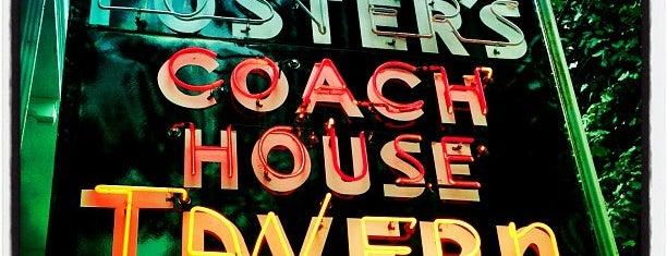 Foster's Coach House Tavern is one of สถานที่ที่ Selom ถูกใจ.