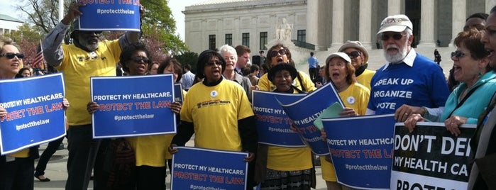 National Committee to Preserve Social Security and Medicare is one of Washington, DC.