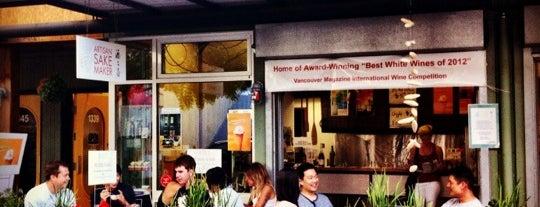 Osake Artisan Sake Maker is one of Vancouver 2015.