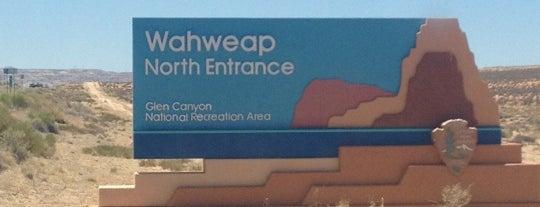 Wahweap Marina, Lake Powell is one of Viaggio Usa.