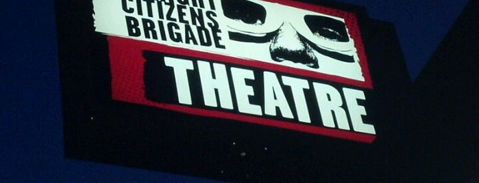 Upright Citizens Brigade Theatre is one of LA.