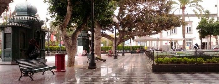 Plaza Las Ranas is one of Gran Canaria.