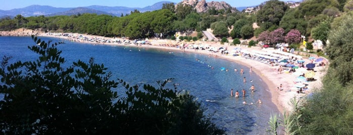 Spiaggia Santa Maria Navarrese is one of IT - Sardinien.