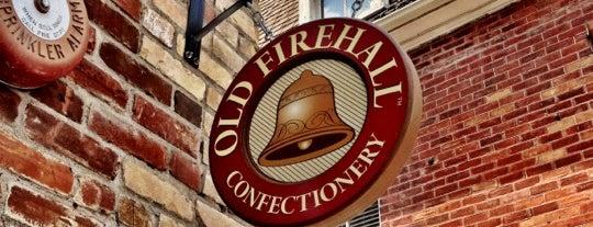 Old Firehall Confectionary is one of Steve's Saved Places.