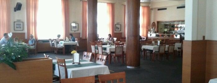 Hotel Zelený strom is one of Kde si pochutnáte na kávě doubleshot?.