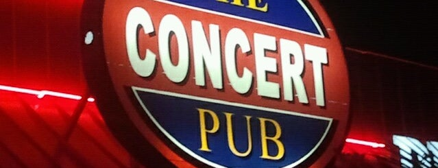 The Concert Pub is one of Houston Press 2011 - Crawfish Places.