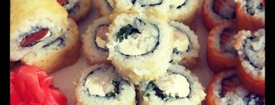 Niu Sushi is one of Santiago.