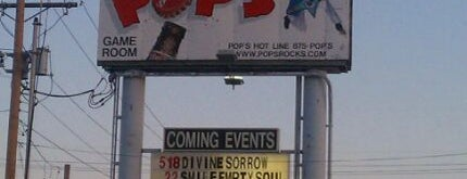 Pop's is one of Illinois' Music Venues.
