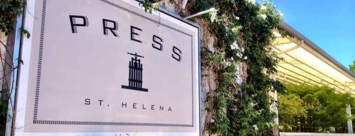 Press Restaurant is one of Napa Valley Restaurants.