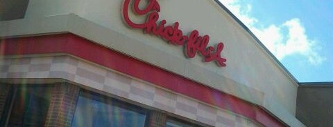 Chick-fil-A is one of Athos 님이 좋아한 장소.