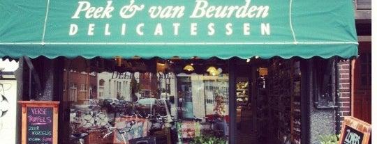 Peek & Van Beurden Delicatessen is one of สถานที่ที่ Thomas ถูกใจ.