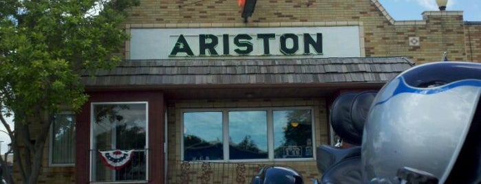 The Ariston Cafe is one of U.S. & A.