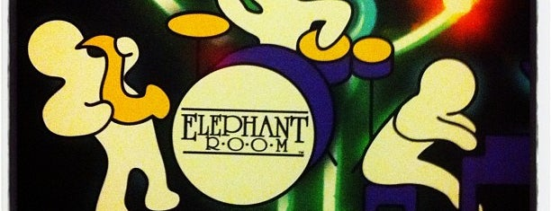The Elephant Room is one of Austin.
