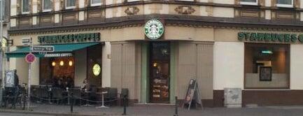 Starbucks is one of Work outside in Düsseldorf.