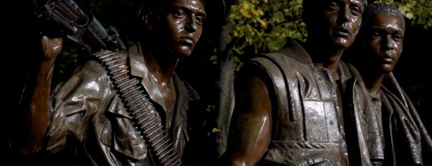 Vietnam Veterans Memorial - Three Servicemen Statues is one of IWalked WashDC's National Mall (Self-guided Tour).