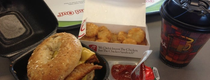 Chick-fil-A is one of Orte, die Donna gefallen.