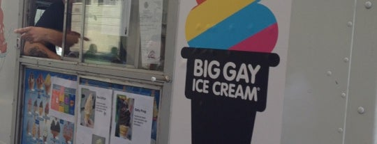 The Big Gay Ice Cream Truck is one of À faire à New York.