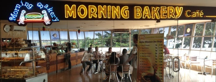 Morning Bakery is one of le 4sq with Donald :).