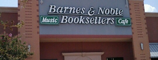 Barnes & Noble is one of George's Liked Places.