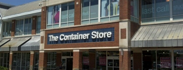 The Container Store is one of Shopping/Services.