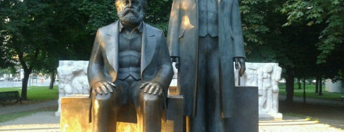Marx-Engels-Forum is one of DDR.