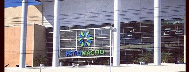 Shopping Pátio Maceió is one of สถานที่ที่บันทึกไว้ของ Fortunato.