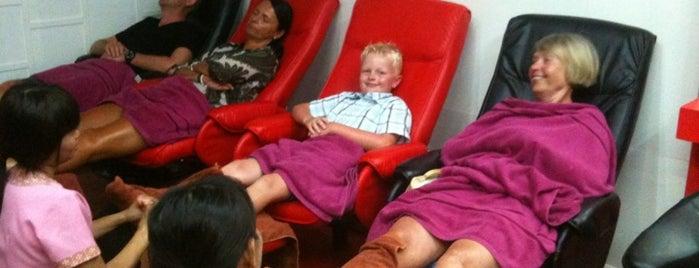 Sukhothai Massage & Spa Ao Nang is one of Locais salvos de Mariana.