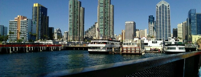 San Diego Ferry Landing is one of Lugares guardados de Carina.