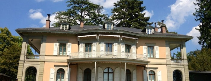 Fondation de l'Hermitage is one of Museums Around the World-List 2.