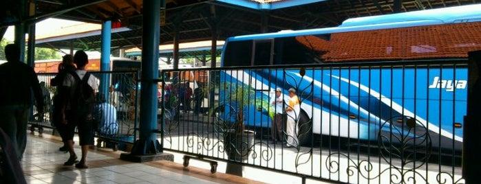 Terminal Purabaya (Bungurasih) is one of Characteristic of Surabaya.