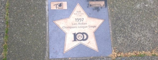 BVB Walk of Fame #77 1997 Lars Ricken Champions League-Sieger is one of BVB Walk of Fame.